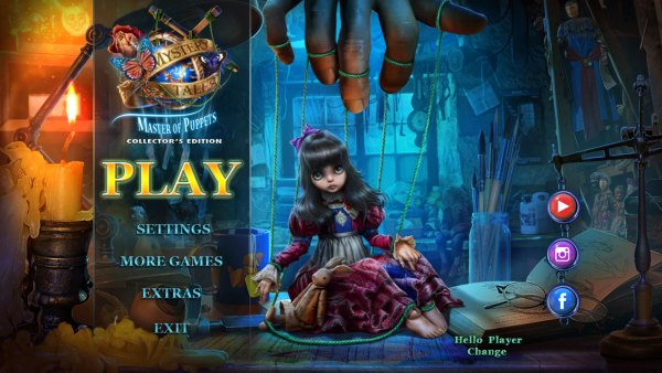 Mystery Tales 14: Master of Puppets Collector's Edition (2021) - полная версия