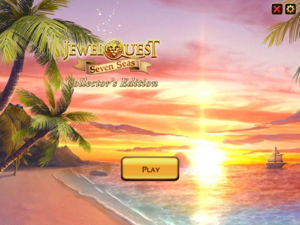 Jewel Quest 7: Seven Seas Collectors Edition - полная версия