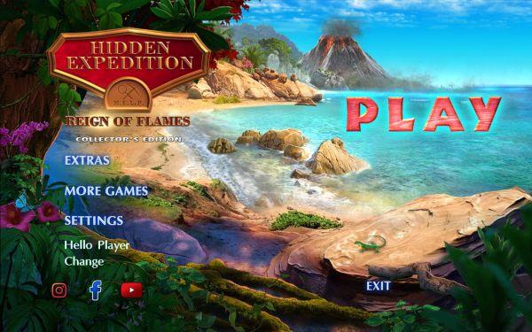 Hidden Expedition 20: Reign of Flames Collectors Edition (2020) - полная версия